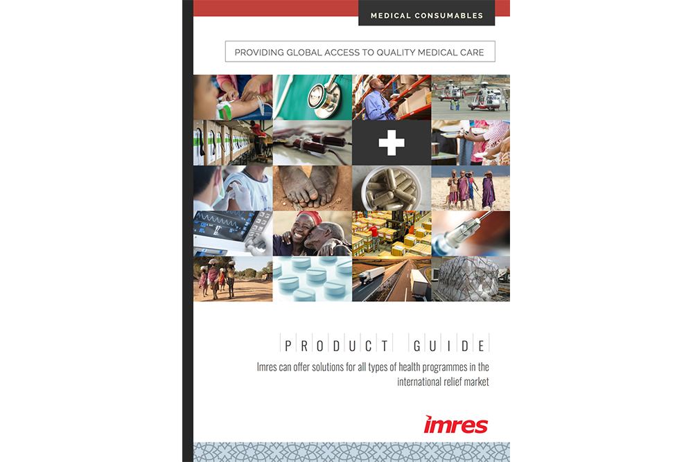 medical consumables brochure